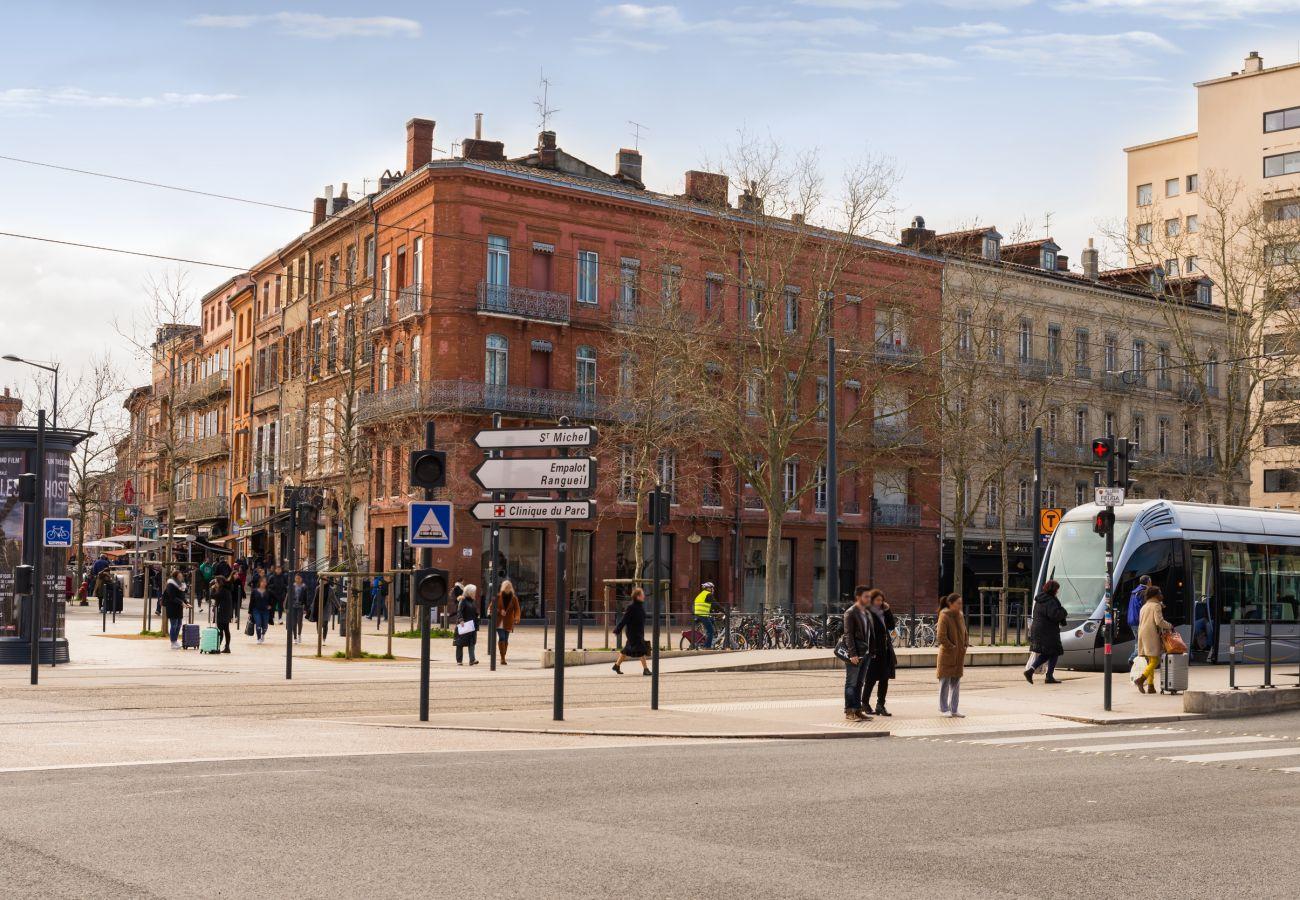 Estudio en Toulouse - PALAIS DE JUSTICE STUDIO Tramway Hyper Centre