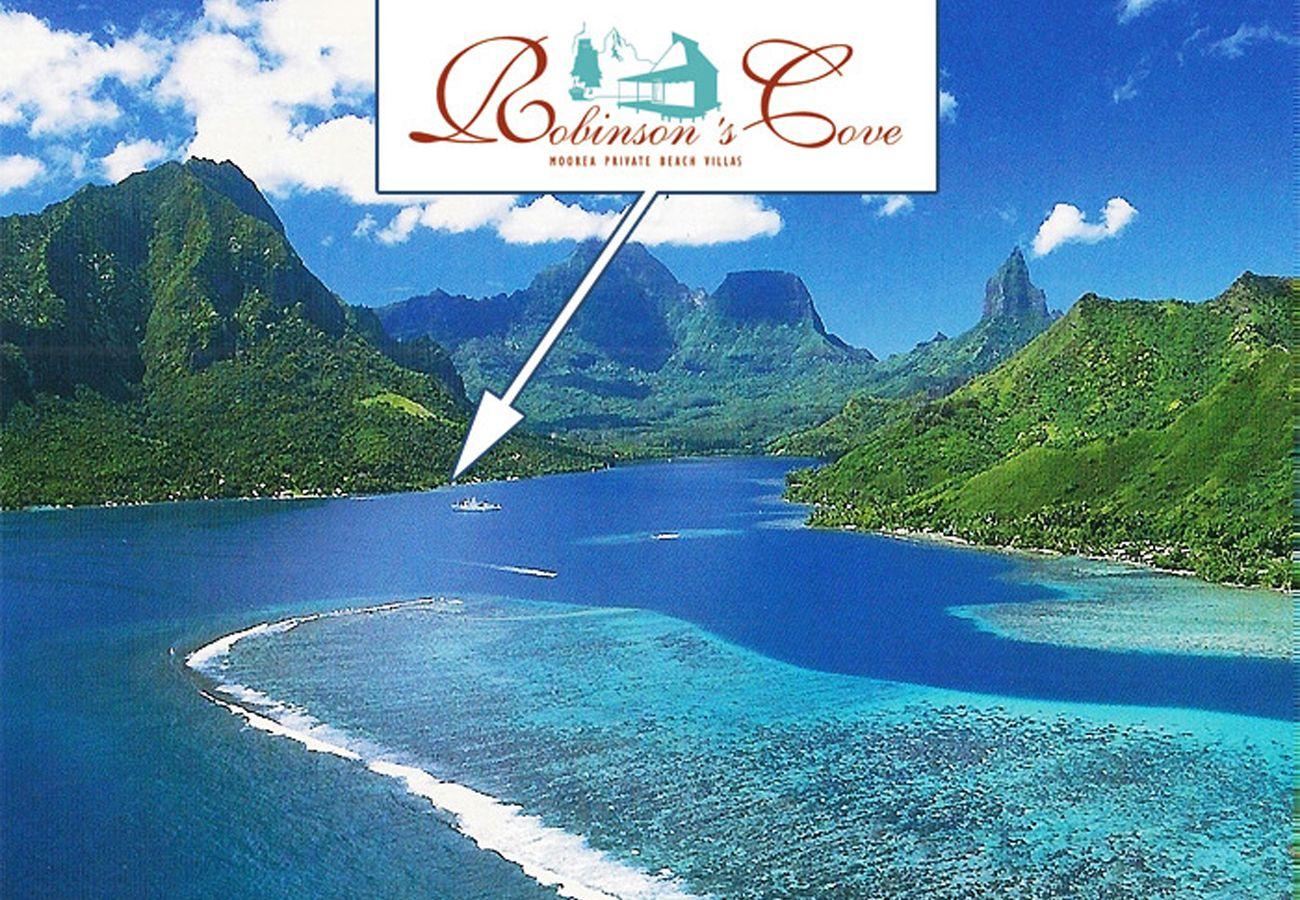Bungalow en Papetoai - Bougainvilla - Robinson's Cove